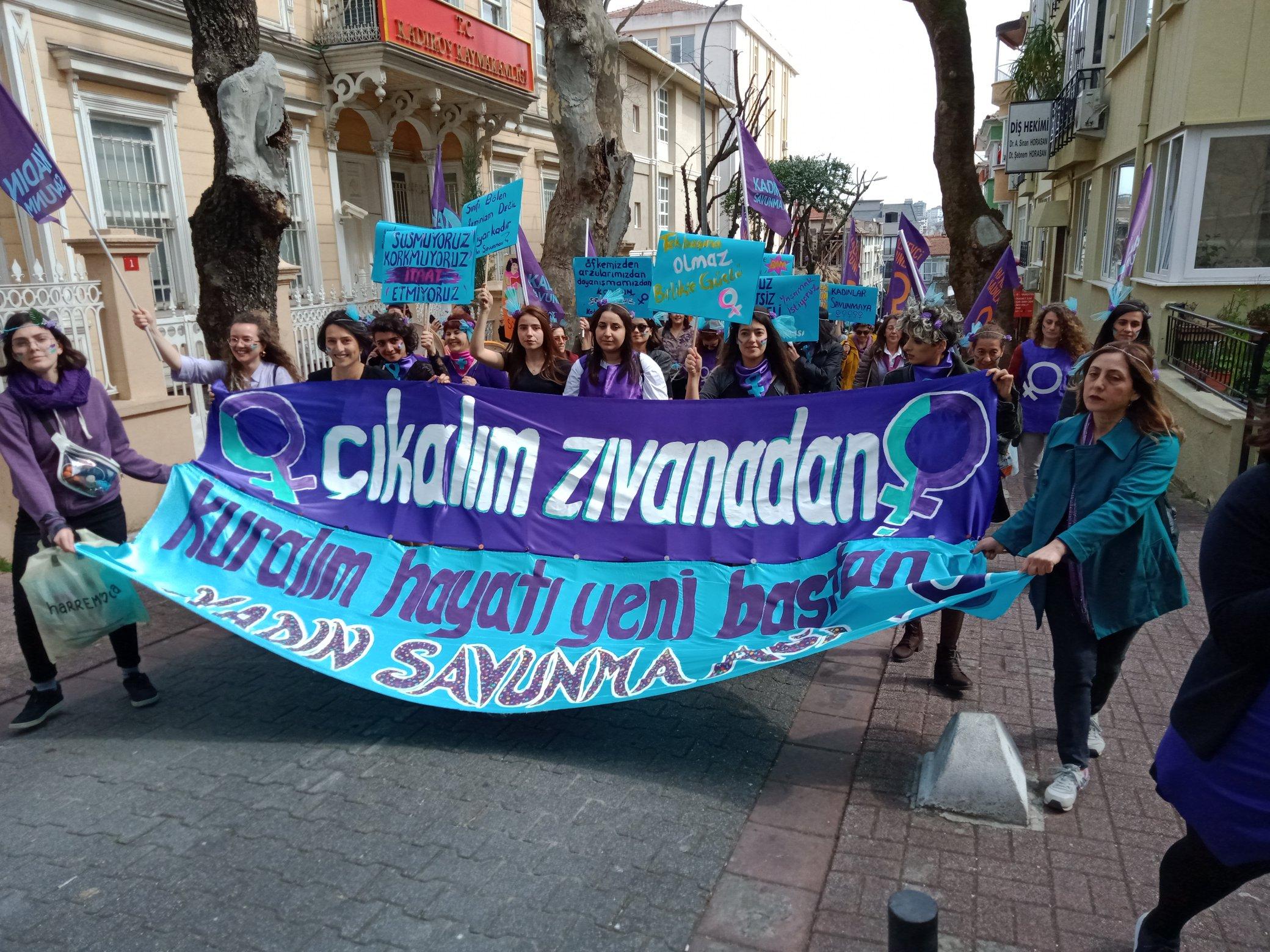 Kadınlar sokakta!- İl İl 8 Mart eylemleri