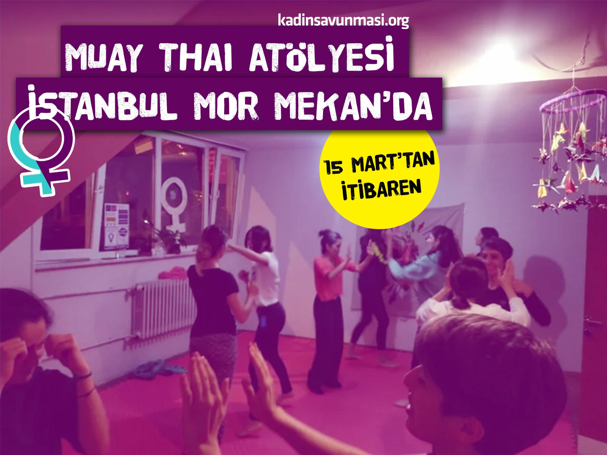 Muay Thai Atölyesi İstanbul Mor Mekan'da*