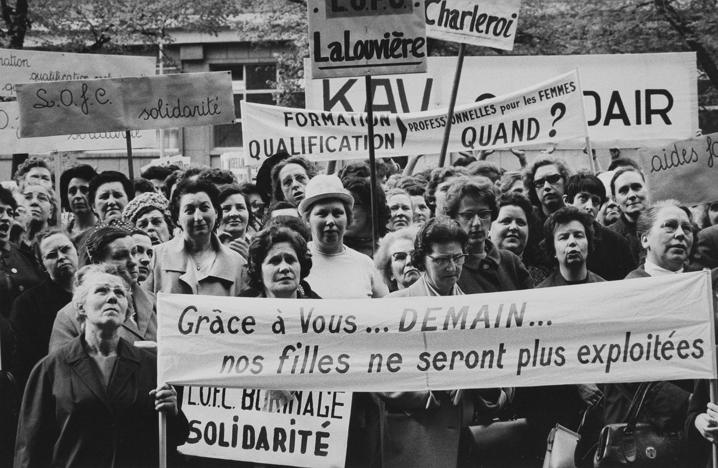 """Kadın işçiler """"Yeter artık"""" dediğinde: Tarihteki kadın grevleri"""