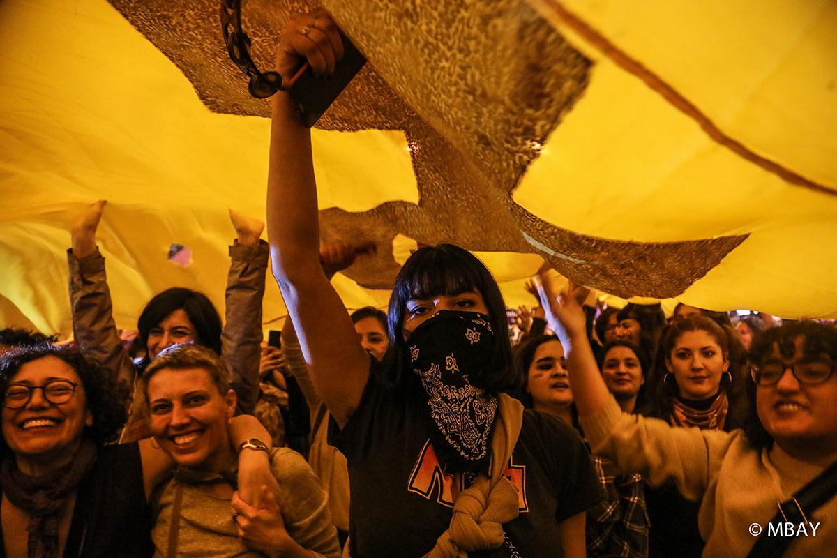 Feminist özsavunmayla 8 Mart'ta sokaklara – Rüya Kurtuluş