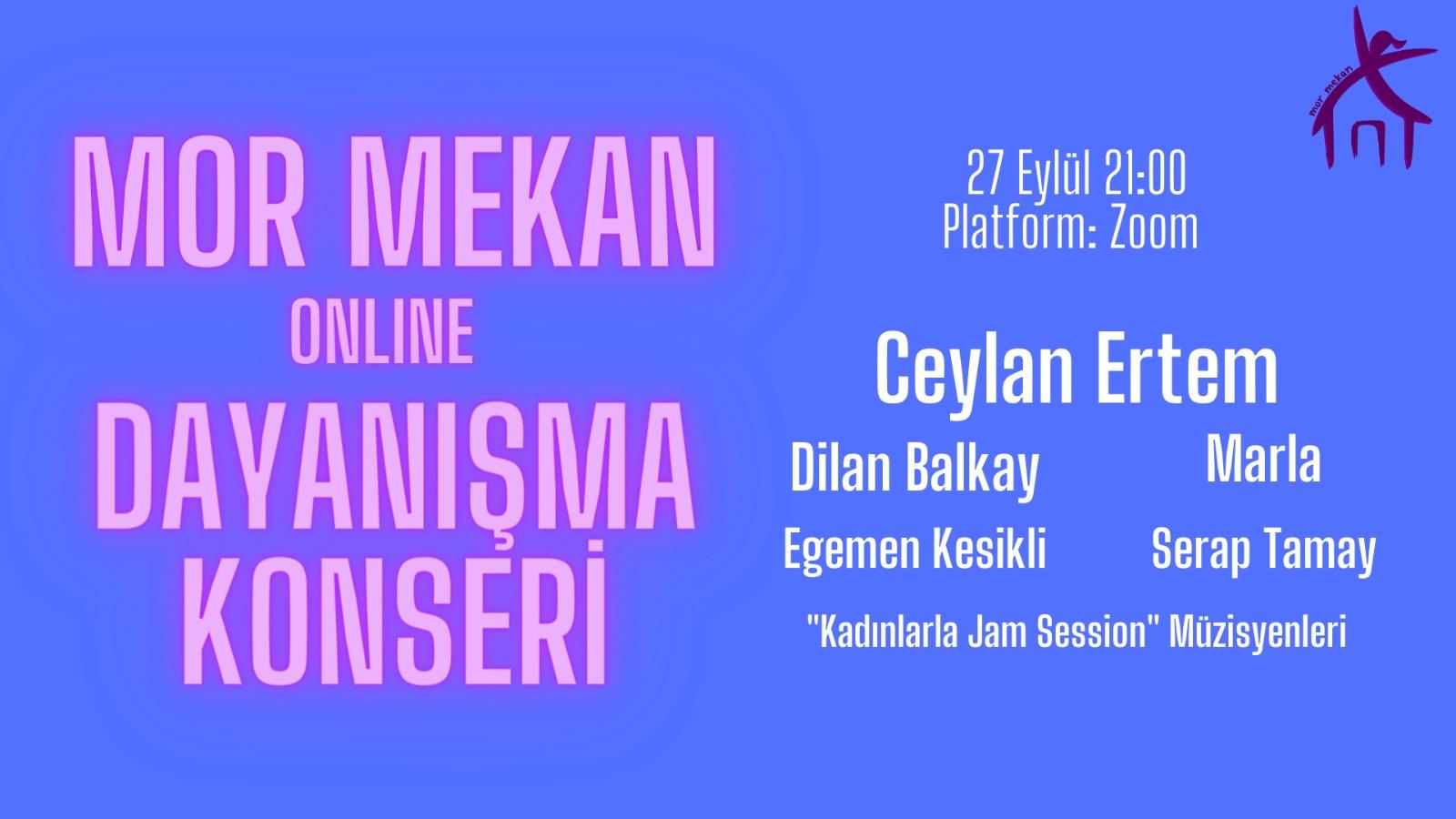 Mor Mekan'la Dayanışma Konseri (Online)