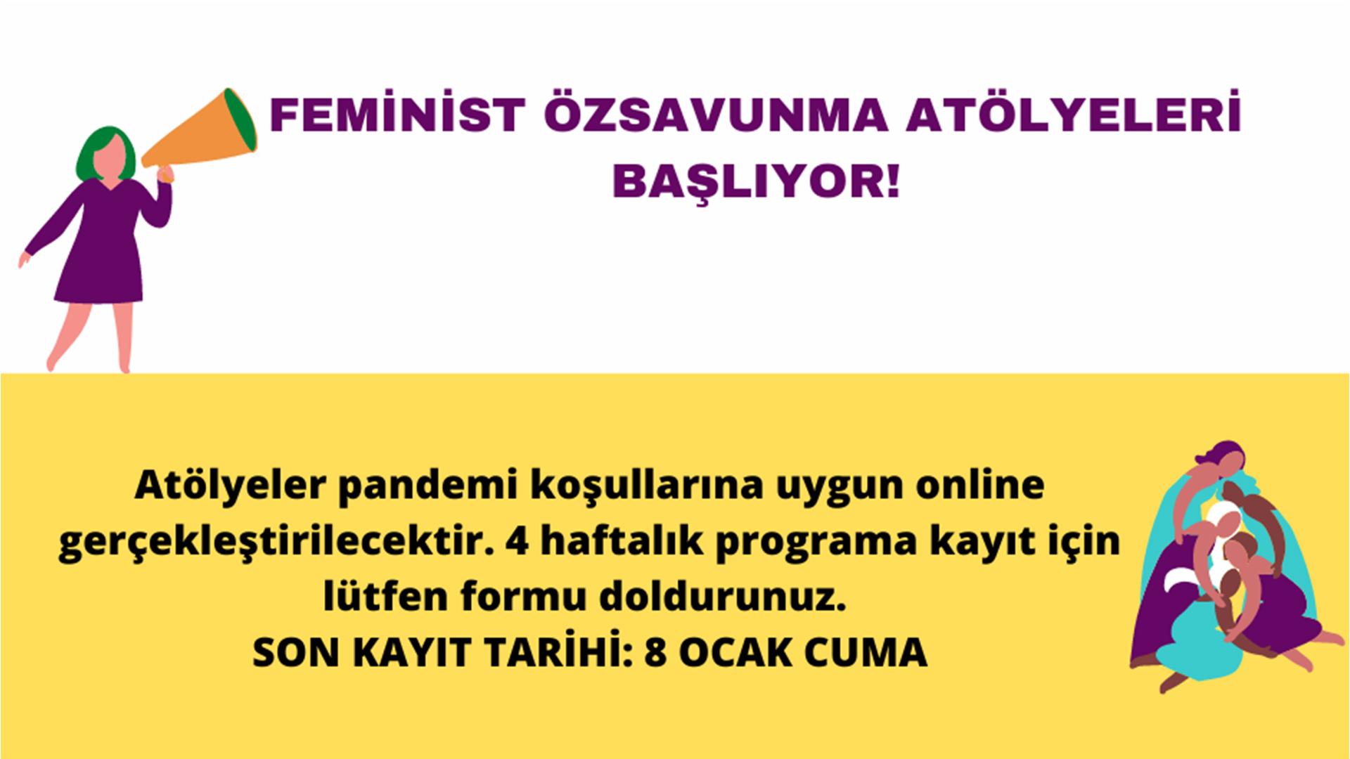Feminist Özsavunma Atölyeleri Başlıyor