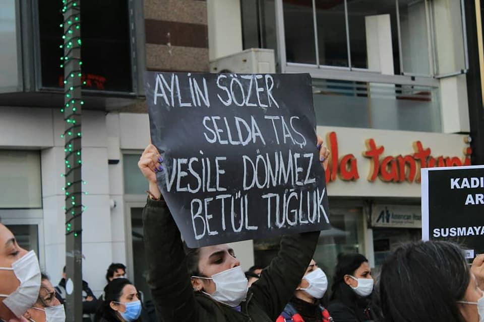 Kadın Cinayetlerini Acil Önle, İstanbul Sözleşmesini Uygula! İl il eylemler