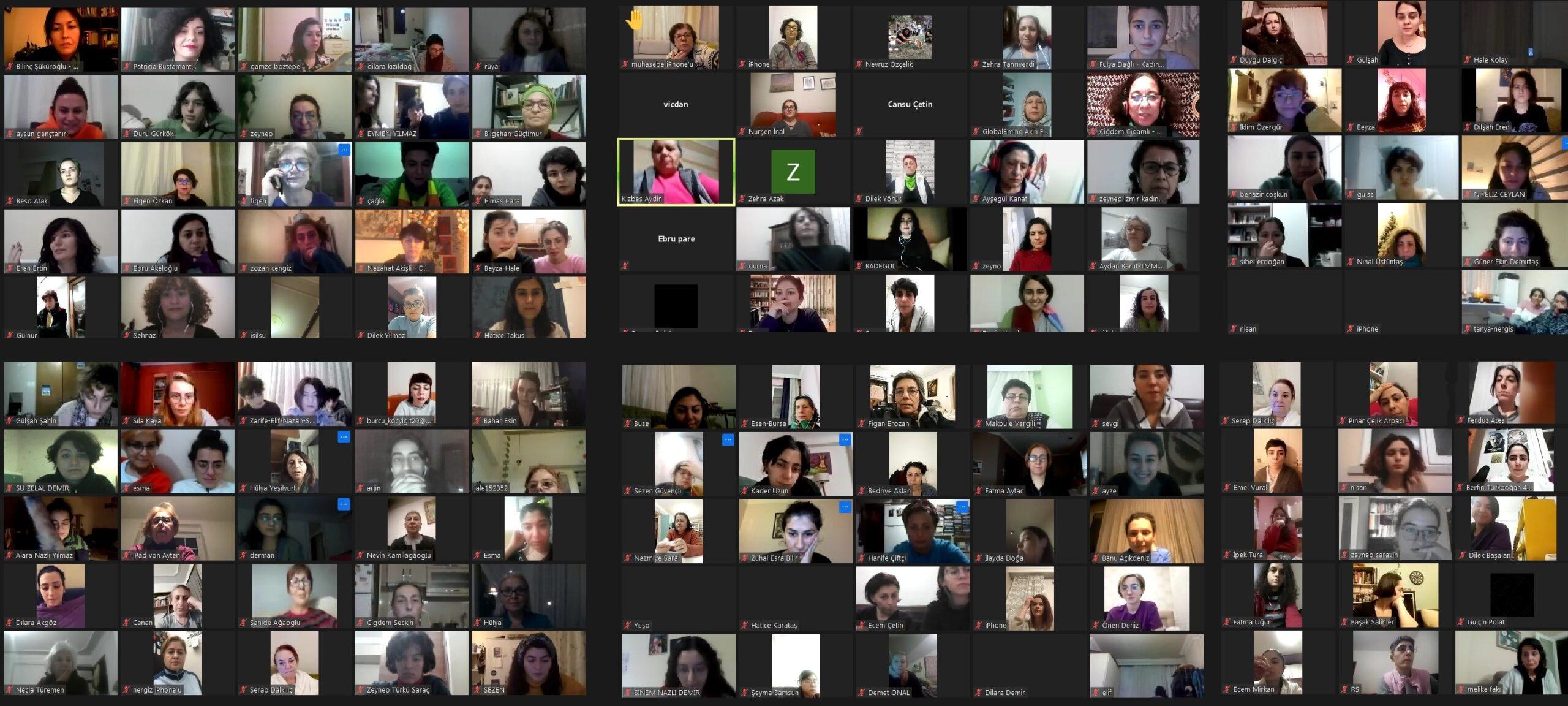 Arjantin'in yeşil dalgası, Güvenli ve Ücretsiz Yasal Kürtaj Hakkı için Ulusal Kampanya'sından feministlerle buluştuk