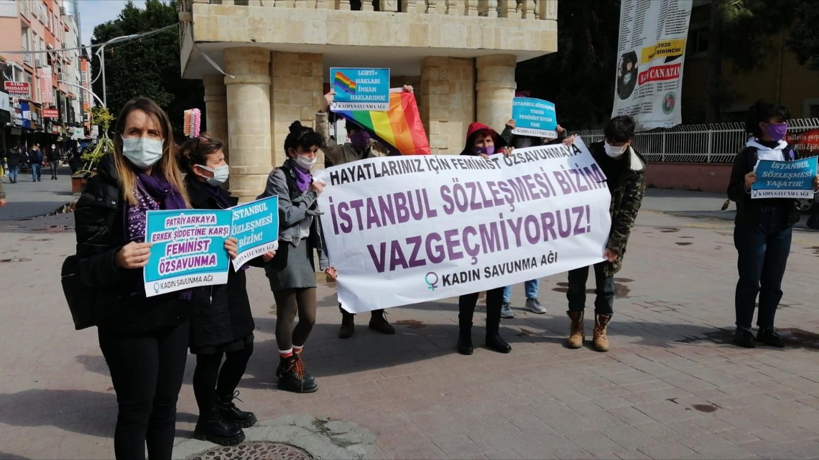 Tarsus Yarenlik Alanı'ndan Sesleniyoruz: İstanbul Sözleşmesi'nden Vazgeçmiyoruz!